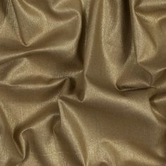 Italian Beige Stretch Denim with Metallic Gold Laminate
