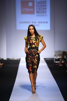 GTBank Lagos Fashion & Design Week 2014 Lanre Da Silva Ajayi - Bellanaija - November2014022