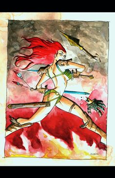 Red Sonja by Michael Avon Oeming