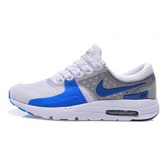 best sneakers c9b1d 6ad5d ... discount code for 2015 mens nike air max zero qs running shoes white  sky blue metallic ...
