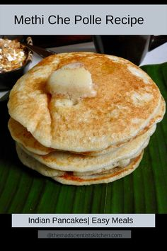 Simply delicious crepes made from  gluten-free rice, sweetened with jaggery and fortified with coconut taste awesome for breakfast and tea. But try them with a spicy curry for lunch or dinner too. Indian Breakfast, Vegetarian Breakfast, Breakfast Dishes, Breakfast Ideas, Great Recipes, Snack Recipes, Amazing Recipes, Tasty Pancakes, Good Food