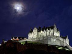 Edinburgh Castle by night, Scotland  1994 - Check!