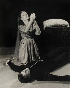 Vivien Leigh and Lawrence Olivier in Romeo and Juliet, 1940