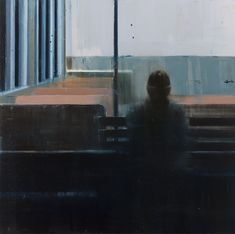 Brett Amory, Waiting #128 (via http://supersonicelectronic.com/post/21722737298/brett-amory-brett-currently-has-an-exhibition)
