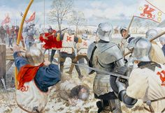 """Towton, 1461: The Battle at Ferrybridge"", Graham Turner"