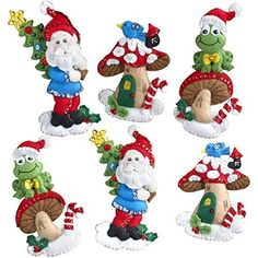 BUCILLA 86557 Gnome Felt Applique Ornaments Kit, Set of 6... https://www.amazon.co.uk/dp/B017RRB8N6/ref=cm_sw_r_pi_dp_x_V8DSxbPAXXRY4