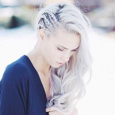 100 Trendy Long Hairstyles for Women: Crownrows . - 100 Trendy Long Hairstyles for Women: Crownrows Easy Hairstyles For Long Hair, Pretty Hairstyles, Wedding Hairstyles, Rocker Hairstyles, Viking Hairstyles, Side Braids For Long Hair, Wedding Updo, Concert Hairstyles, Curly Haircuts