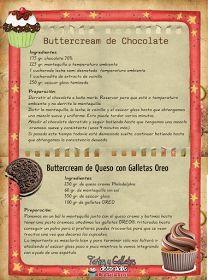 Tartas, Galletas Decoradas y Cupcakes: Decoración de Tartas con Buttercream y Ganache