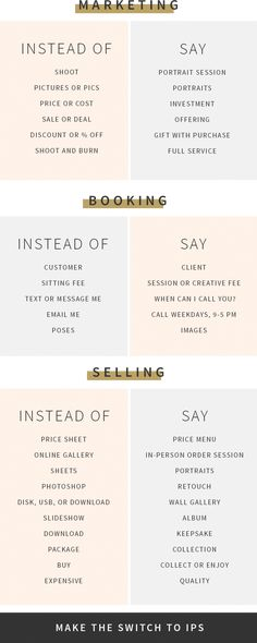 Key Phrases for Photographers to Enhance In-Person Sales - Design Aglow Key Phrases for Photographers to Enhance In-Person Sales - Design Aglow Branding Your Business, Business Marketing, Business Tips, Social Media Marketing, Online Business, Business Sayings, Business Video, Affiliate Marketing, Photography Marketing
