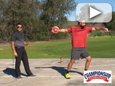 Watch as Coach John Dagata explains and a thrower demonstrates this step in - step out drill.