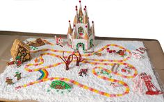 Christmas is around the corner yet again, and that means kiddos are counting the days until Santa arrives. We know there are a ton of paper advent calendars out there to build excitement around the 25th, but this year, you can make a new kind: a gingerbread CandyLand game! Decide whether you'd like to do the step-by-step guide to make this a true advent calendar (and add an element to the board every day), or do it all at once as a family.