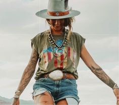 The American Dream – Idaho Thunderbird Country Chic Outfits, Cowgirl Style Outfits, Rodeo Outfits, Hippie Outfits, Cute Outfits, Rodeo Clothes, Style Clothes, Work Clothes, School Outfits