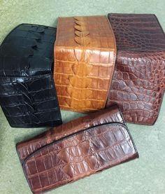 Classic high end bi-fold real alligator crocodile leather men wallet purse in Clothing, Shoes, Accessories, Men's Accessories, Wallets Men Wallet, Purse Wallet, Leather Wallet, Crocodile, Leather Men, Crocs, Purses, Classic, Handbags