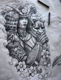 Amazing tomoe gozen female samurai art/sketch done. - - Amazing tomoe gozen female samurai art/sketch done… – - Female Samurai Tattoo, Samurai Drawing, Samurai Artwork, Samurai Tattoo Sleeve, Dragon Tattoo Female, Irezumi Tattoos, Geisha Tattoos, Geisha Tattoo Design, Neue Tattoos