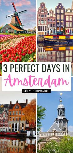 Amsterdam Travel Guide | Amsterdam Itinerary | 3 days in Amsterdam | Amsterdam Travel Tips | Amsterdam Hidden Gems | Where to Stay in Amsterdam | Amsterdam Bucket List | Non-Touristy Things to do in Amsterdam | Amsterdam Photography | Netherlands Travel | Amsterdam things to do | Amsterdam Netherlands Travel | Top Photo Spots in Amsterdam | Amsterdam Food | Best Things to do in Amsterdam | Best of Amsterdam | Places to Visit in Amsterdam | Cute Places in Amsterdam #Amsterdam #Netherlands…