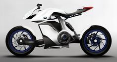 BMW Bikes, electric motorcycle, BMW HP Knust, Hydrogen powered bike