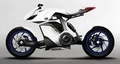 BMW Bikes, electric motorcycle, BMW HP Knust, Hydrogen powered bike