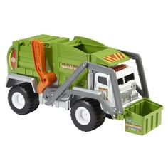 FINALLY!  A garbage truck!