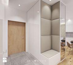 Wizualizacja mieszkania w Orłowie - Hol / przedpokój, styl nowoczesny - zdjęcie od Arte Dizain