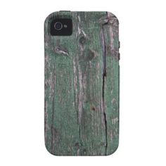 Worn old green flaking paint on old cracked wood. Iphone 4 Cases, Wooden Case, Rustic, Paint, Green, Photography, Design, Country Primitive, Photograph