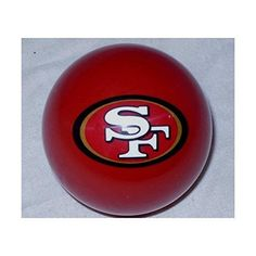 Official NFL San Francisco 49ers Billiard Pool Cue Stick /& Free Referee 8 Ball