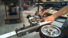 Wuertz Machine Works Surface Grinding Attachment video 2