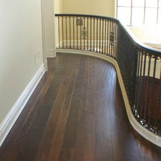 Wide Plank, Walnut Hardwood Flooring