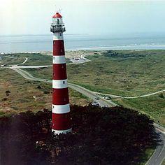 Lighthouse, Ameland. Netherlands