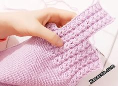 ÇOK ŞEKER LİLA KIZ BEBEK YELEK AÇIKLAMALI | Nazarca.com Baby Knitting Patterns, Knitting Stitches, Stitch Patterns, Baby Girl Dresses, Fingerless Gloves, Arm Warmers, Diy And Crafts, Christmas Crafts, Crochet Baby Girls