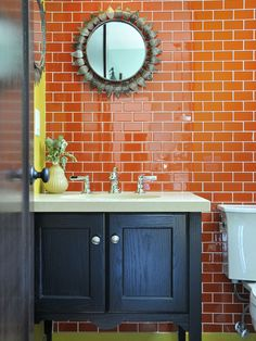 Color Collection Tangerine Gloss 3x6 - Portland Direct Tile & Marble