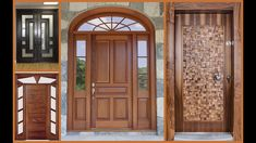 This video is about the Top 50 Modern Wooden Main Door Designs for Home It accommodates stylish yet modern door design ideas which will take your home . Main Door Design Photos, Door Design Images, Main Entrance Door Design, Wooden Front Door Design, Double Door Design, Room Door Design, Modern Front Door, Front Entry, Wooden Doors