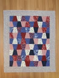 red white and blue tumbler quilt pattern - Google Search