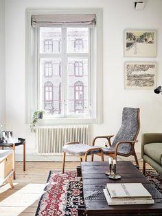 Bostadsrätt, Linnégatan 1 i Göteborg - Entrance Fastighetsmäkleri