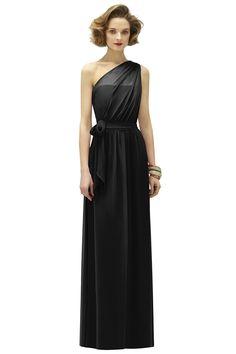 Lela Rose Black Crinkle Chiffon $207
