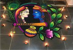 Rangoli Designs For Diwali Rangoli Designs For Diwali Rangoli Designs Peacock, Easy Rangoli Designs Diwali, Indian Rangoli Designs, Rangoli Designs Latest, Simple Rangoli Designs Images, Free Hand Rangoli Design, Rangoli Border Designs, Small Rangoli Design, Colorful Rangoli Designs