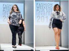Models:   / Fabiola Romão Fashion Weekend Plus Size / Winter 2014 Event Production: Renata Vaz Clothes: Aline Zattar http://www.alinezattar.com.br/ Preview: CWB Plus Size & Carol Pastro Photography