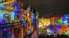 lights festival Lyon, France