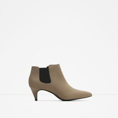 Image 1 of MID HEEL ANKLE BOOT from Zara
