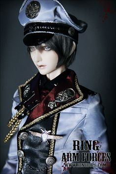 Admiral Ronald, 72cm Ring Doll - BJD Dolls, Accessories - Alice's Collections