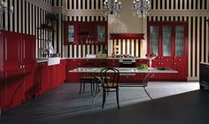 CALVOS-FS › Lacquer › Traditional style › Kitchen › Kitchen | LEICHT – Modern kitchen design for contemporary living
