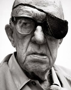 Great American Movie Director, John Ford.... by Richard Avedon.