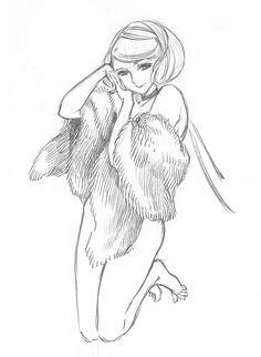 Pencil sketch by Ms.Kaoru Mori