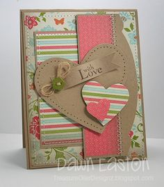So pretty - Love the different papers used and the stitching detail! I want a sewing machine!