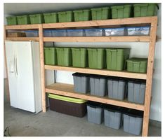 Ana White | Easy DIY Garage Shelves - DIY Projects