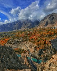 Fall Over Hunza Valley