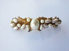 Miriam Haskell Pearl Pin by kauaielectric on Etsy