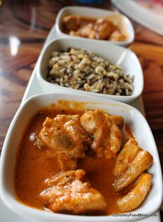 SANAA Slow-cooked in Gravy, Simple and Well-seasoned Butter Chicken and Chicken Vindaloo