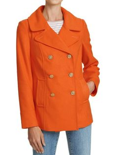 If it has to be coat weather, at least it can be ORANGE coat weather!