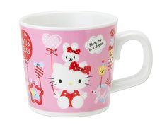 Hello Kitty Small Size Mug Cup For Kids Balloon SANRIO JAPAN