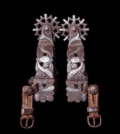 19th century Mexican spurs on http://vintages-antiques-collectibles.knoji.com/ten-valuable-american-old-west-collectibles/